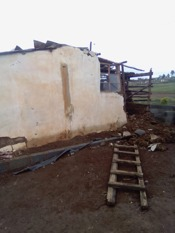 Home ruined by floods