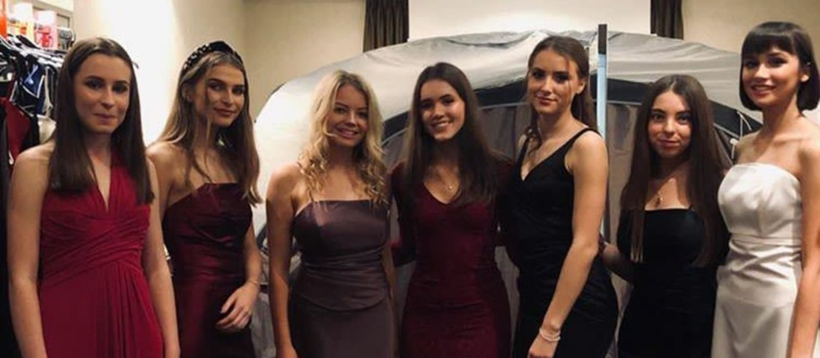 Models ready for the Fab Dress Event
