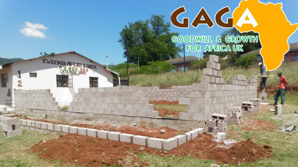 school building work in KwaZulu Natal