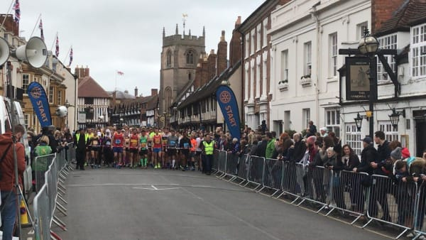 Shakespeare Marathon Start Line